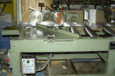 Roller feeder for moulder power in feed scmi weinig