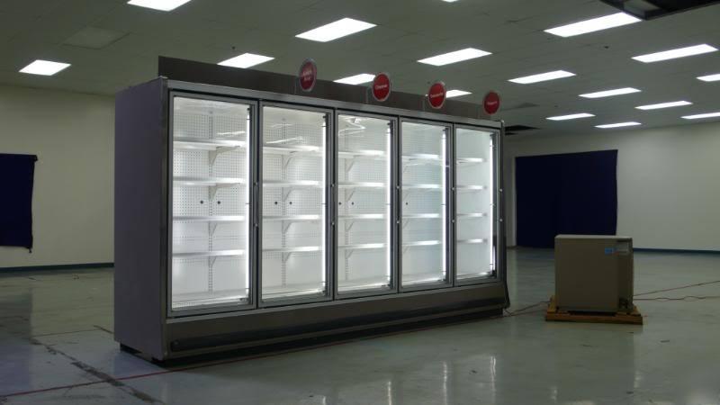 Tyler 5 Glass Door Reach In Cooler Refrigerator 2007